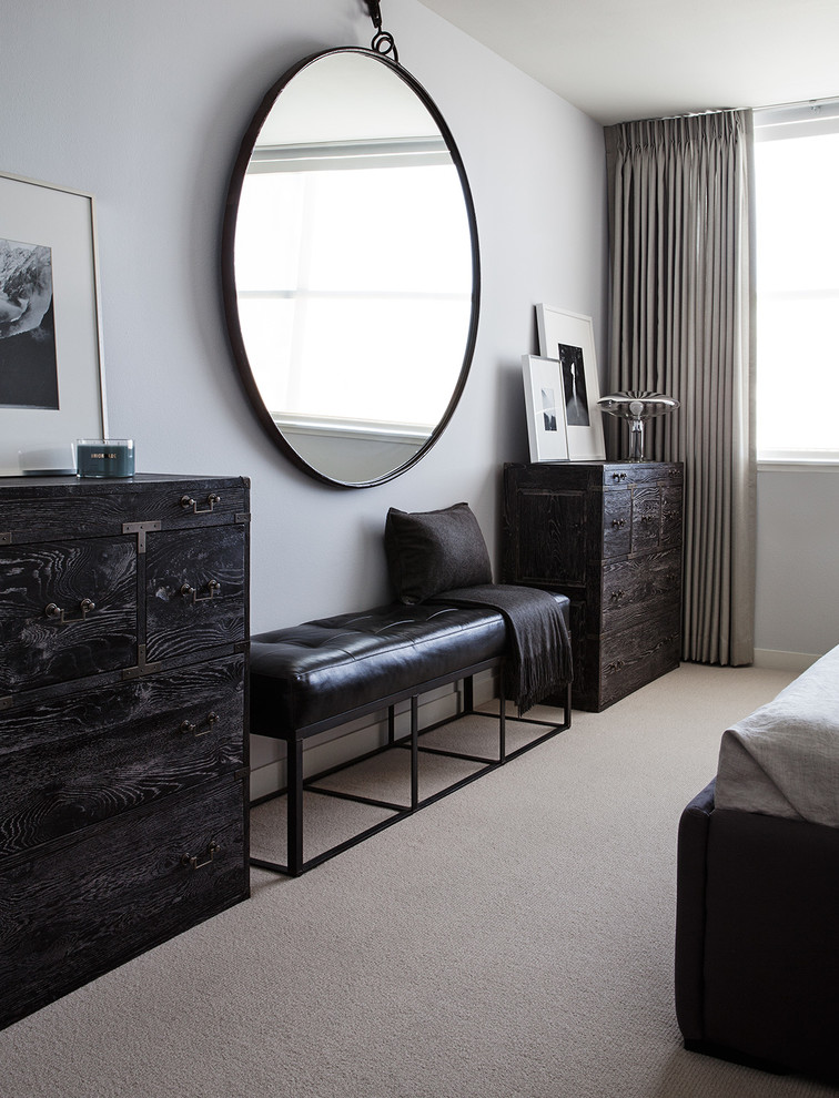 Example of a trendy bedroom design in San Francisco
