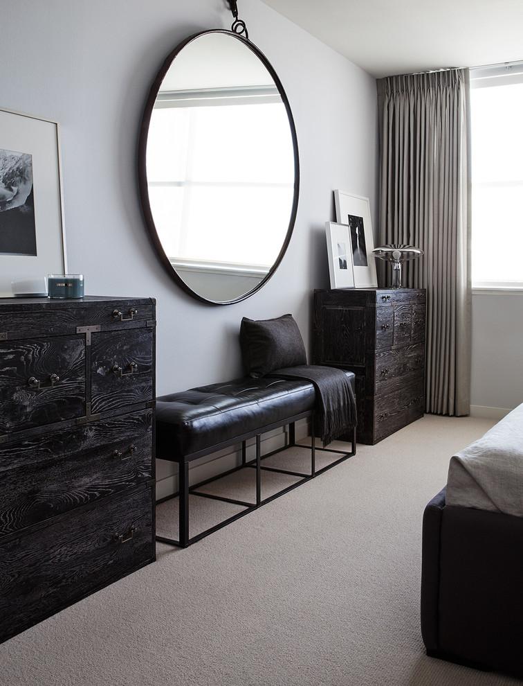 Example of a trendy bedroom design in San Francisco