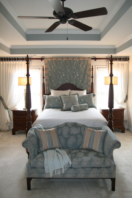 soothing master suite traditional bedroom 13572 | traditional bedroom