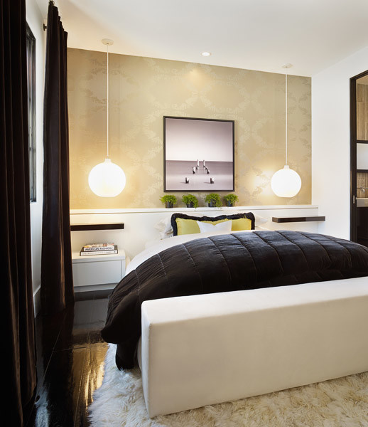Sophisticated Bachelor contemporary-bedroom