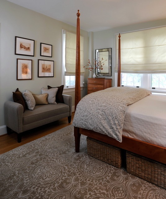 Sophisticated bedroom traditional-bedroom