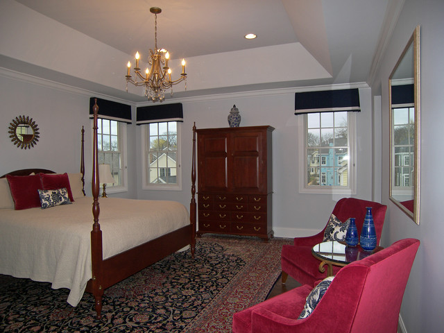 Sophisticated Evanston Home Transitional Bedroom