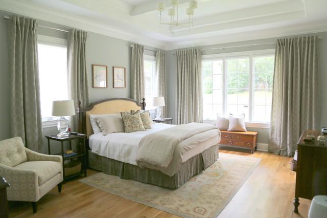 sophisticated family home classique chic chambre nashville par kristie barnett the. Black Bedroom Furniture Sets. Home Design Ideas