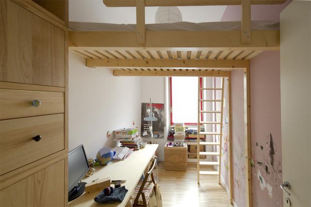 Soppalchi In Legno Per Camere Da Letto.Soppalco Legno Modern Bedroom Other By Laquercia21