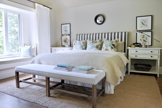 South Surrey Master Bedroom Traditional Bedroom