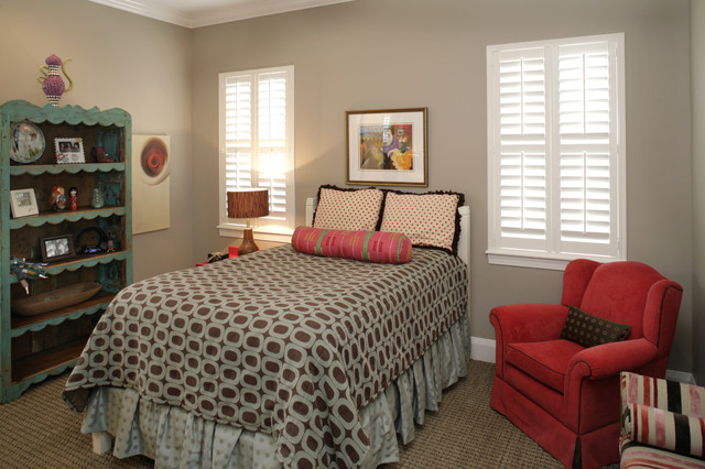 South Tampa Custom Home bedroom