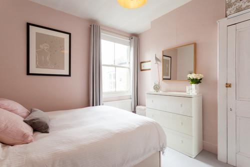 Vilken rosa nyansär snyggast i sovrummet?