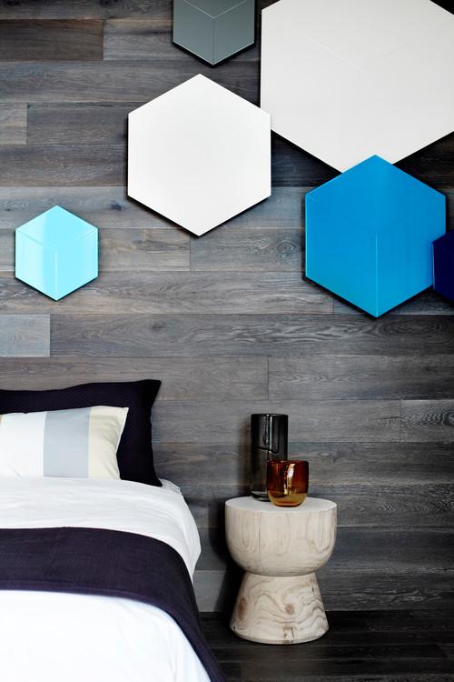 dekoracja heksagonalne