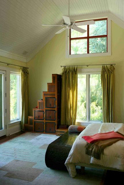Southampton Residence contemporary-bedroom