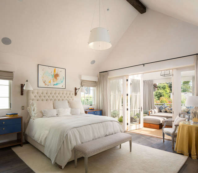Southern california homes transitional bedroom los for New age home designs