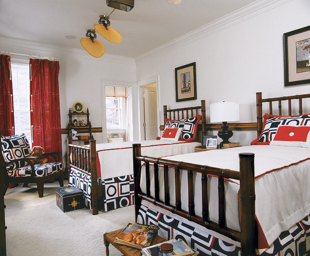 Southern Living Idea House traditional-bedroom