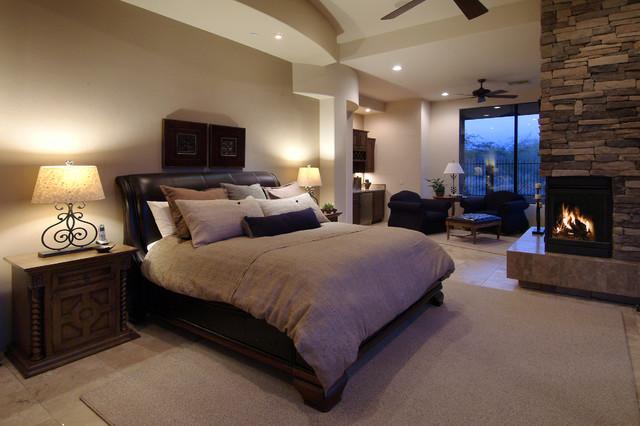 Southwest contemporary 553 - Houzz dormitorios ...