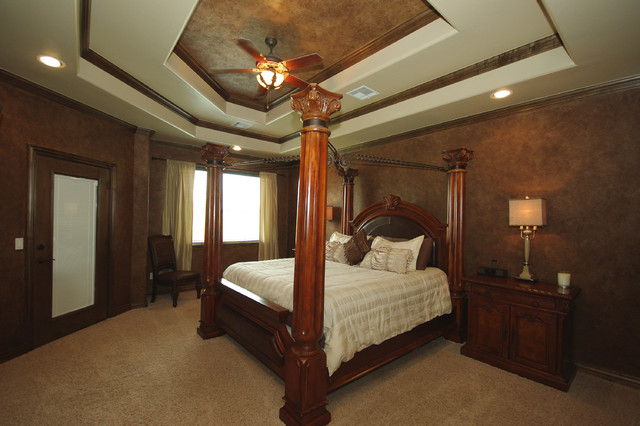 Southwest OKC Custom Home #2 traditional-bedroom