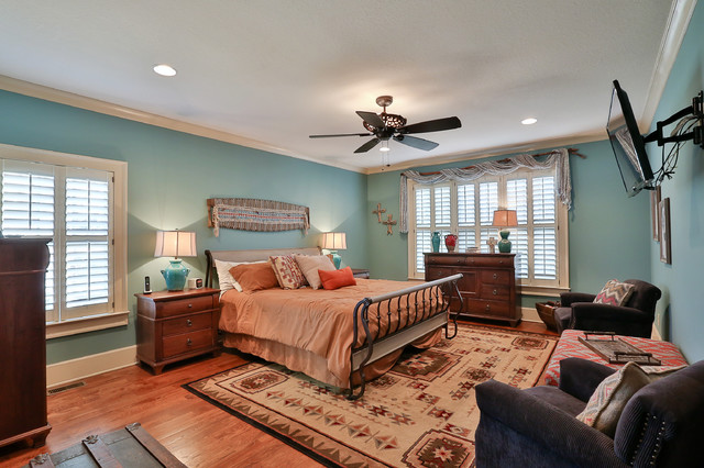 Southwestern home decorating project for Southwestern bedroom designs
