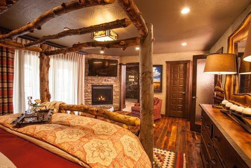 Southwestern Rustic Master Bedroom
