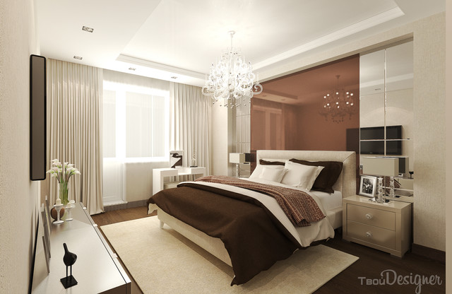 bedroom apartment bedroom in chocolate colors contemporary bedroom