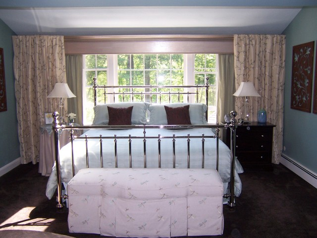 spa inspired master bedroom suite traditional bedroom boston by expressive interiors