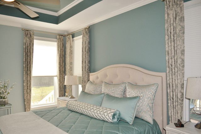 Spa-Like Bedroom - Transitional - Bedroom - Baltimore - by ...