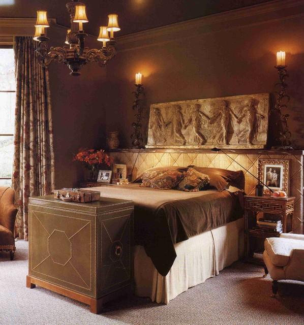 Spanish bedroom mediterranean bedroom orange county for Mediterranean bedroom