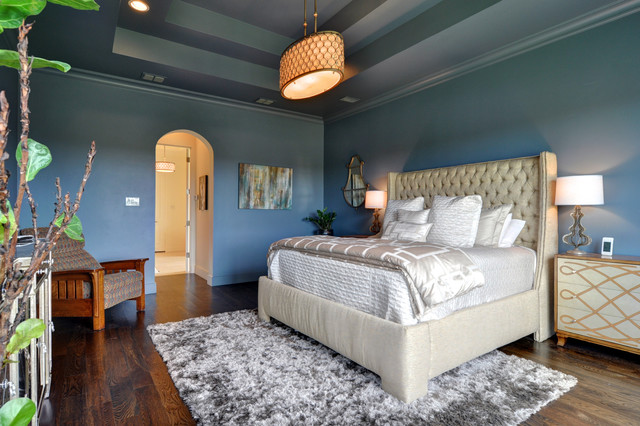 Spanish Colonial Modern Bedroom Dallas By Braswell