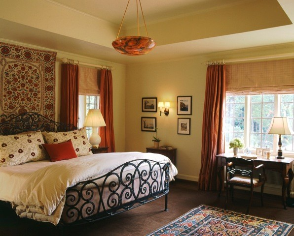 Spanish Colonial Master Bedroom Westchester County Ny