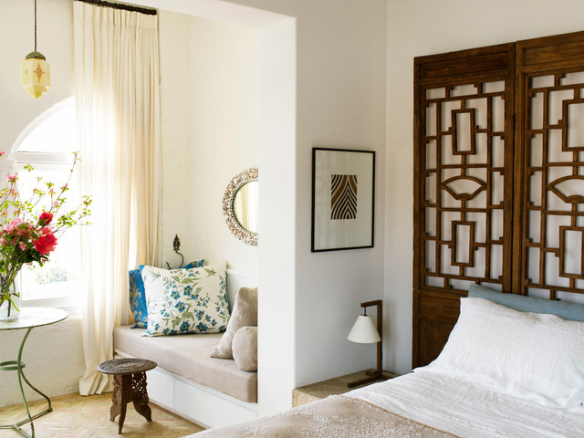 Spanish Mission Apartment Eclectic Bedroom Sydney By Sarah