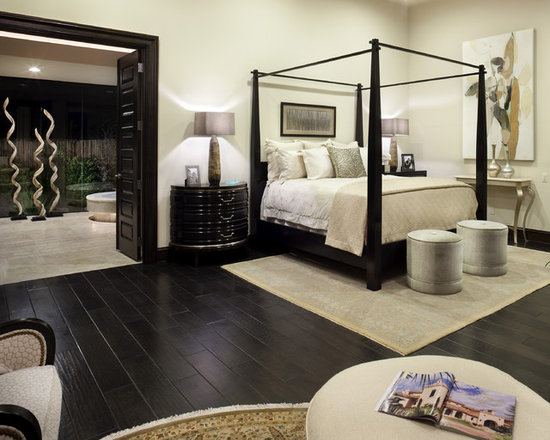 Save email for Bedroom ideas dark wood floor