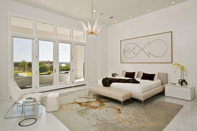 Spanish Oaks Residence Master Bedroom contemporary-bedroom