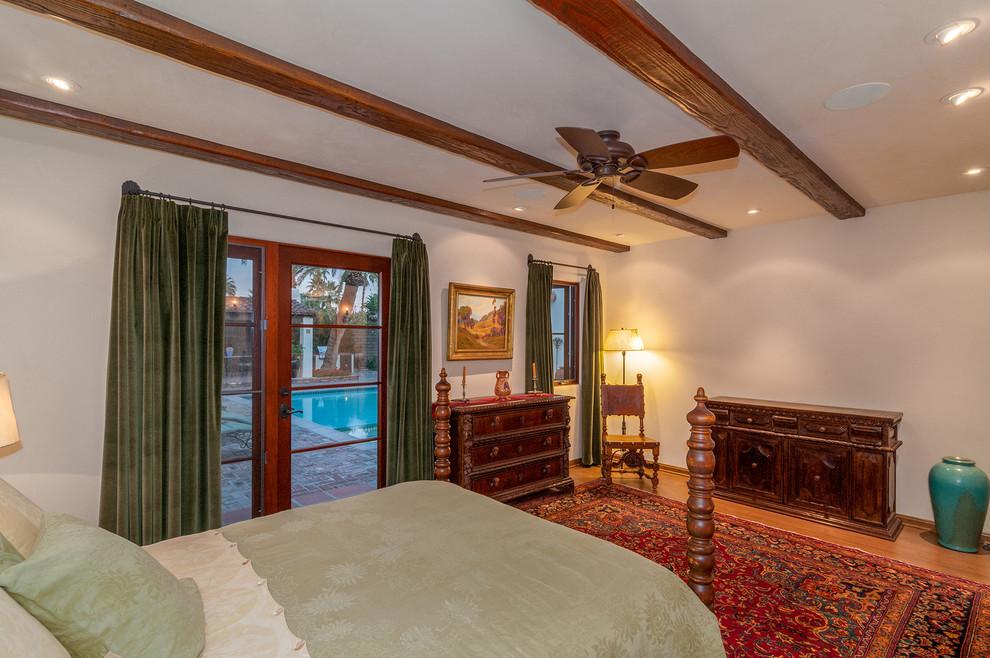 Tuscan bedroom photo in Denver