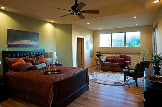 Spanish Style Casa Mediterranean Bedroom Albuquerque