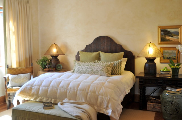 Interior Designers Decorators Spanish Style Home Traditional Bedroom