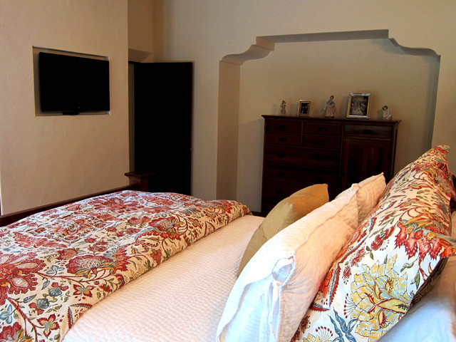 Spanish Style Master Bedroom In Santa Barbara Ca Mediterranean Bedroom Santa Barbara By