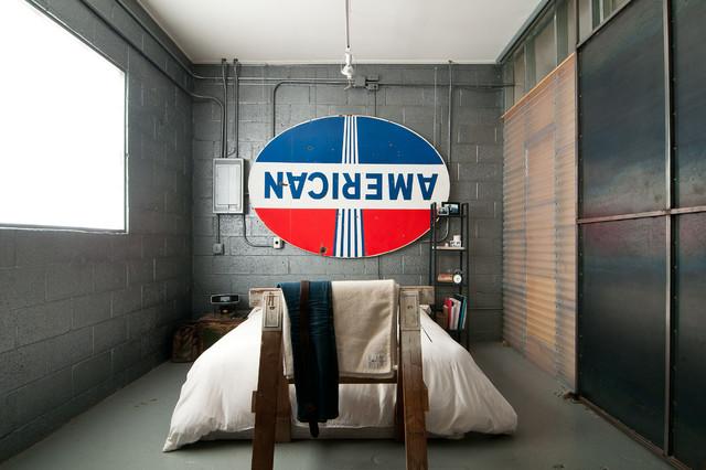 Spencer and Alex industrial-bedroom