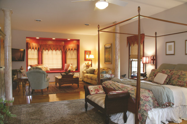 Spicher Residence Master Suite traditional-bedroom