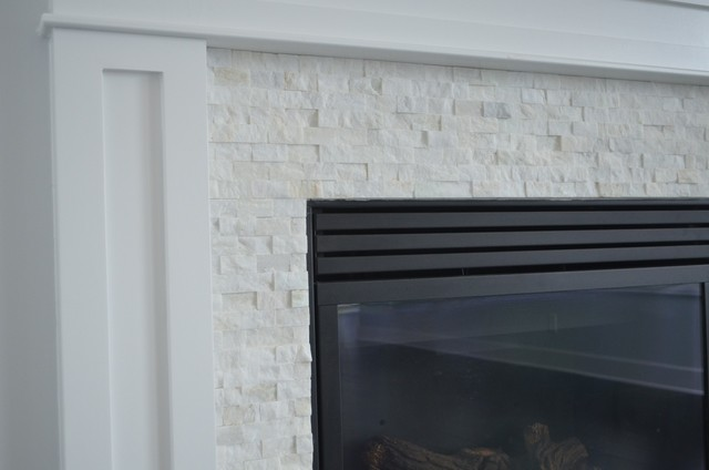 Split face white marble fireplace surround for White marble fire surround