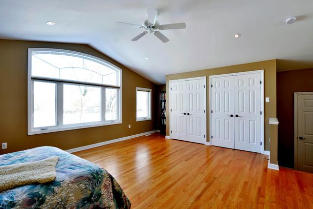 split level transformation traditional bedroom ottawa by