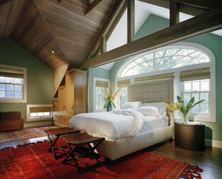 Split Oaks Farm Bedroom contemporary bedroom