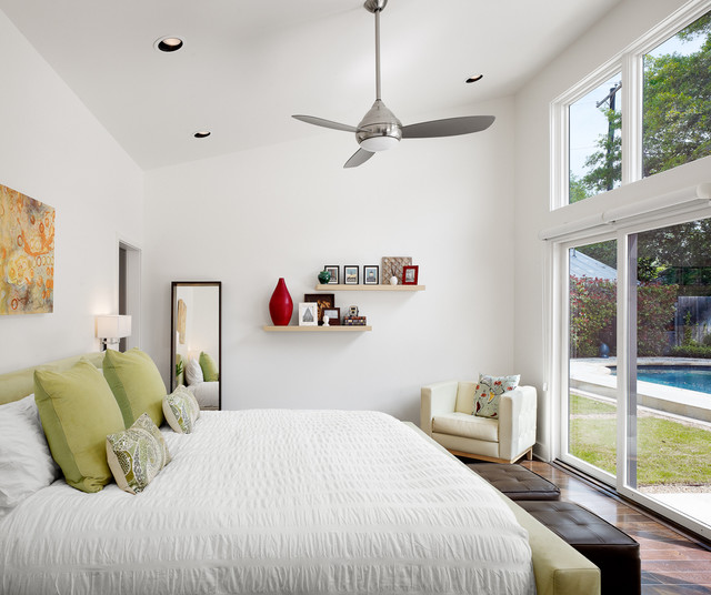Charmant Spring Creek Residence Contemporary Bedroom
