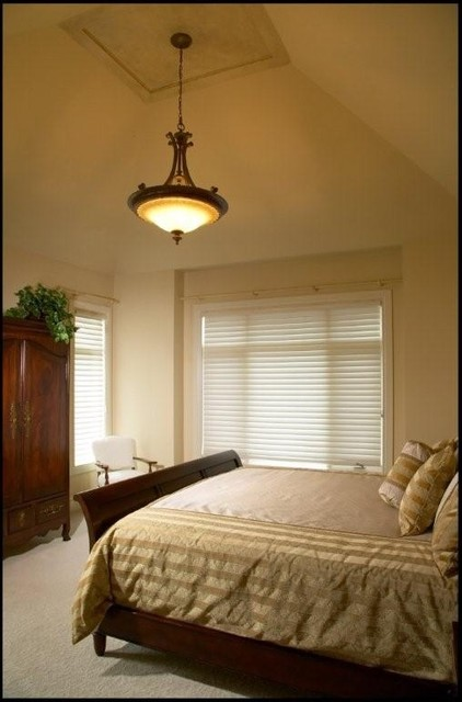 Spring Valley Walkout traditional-bedroom