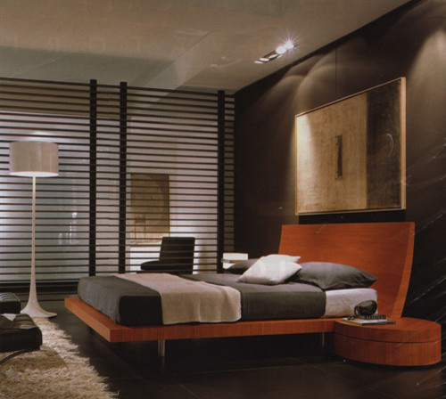 Beautiful Spun Floor Lamp Contemporary Bedroom