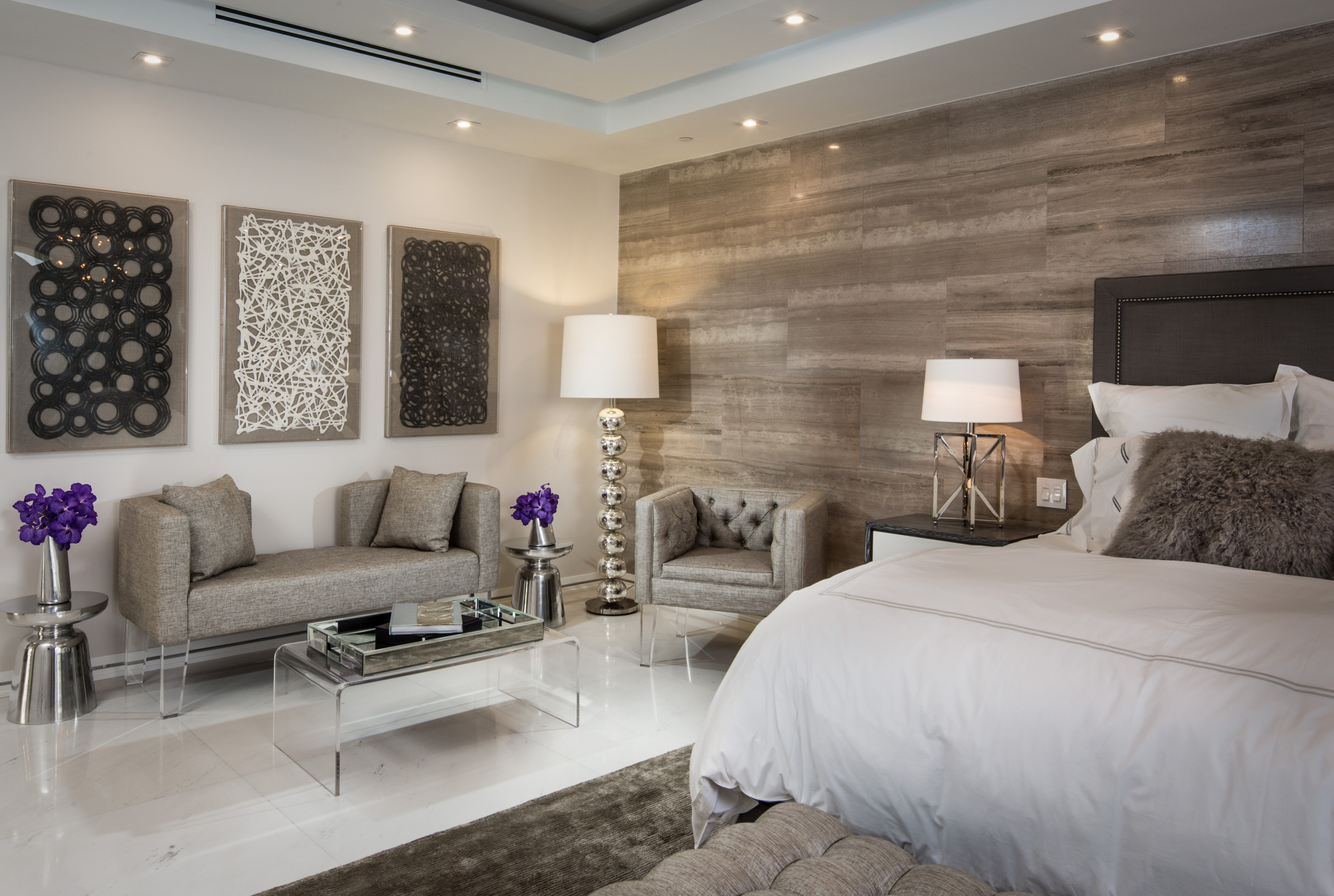 75 Beautiful Marble Floor Bedroom Pictures Ideas December 2020 Houzz