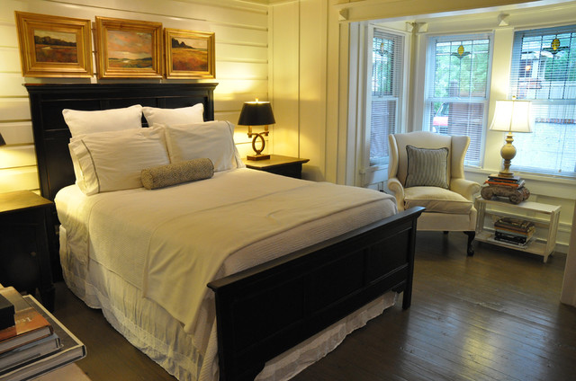 St. Simons Island, GA home staging traditional bedroom