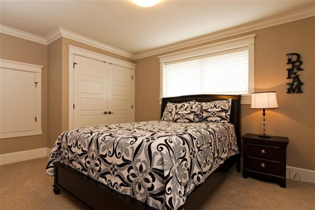 Stage in Langley traditional bedroom