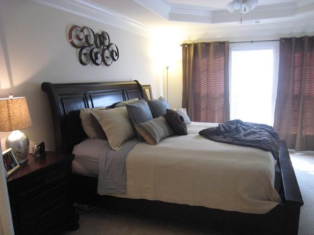 Stage Organize Simplify (SOS) traditional-bedroom