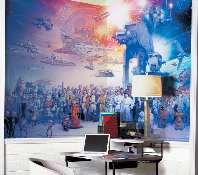 star wars bedding and room decorations modern bedroom - Star Wars Decorations