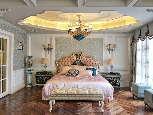 Bedroom - victorian bedroom idea in Other