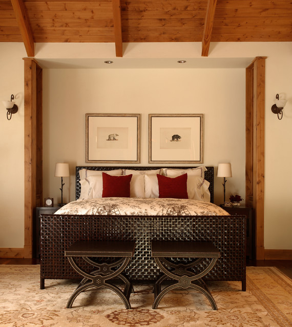 Interior Designers Decorators Steamboat Springs Mountain House Rustic Bedroom