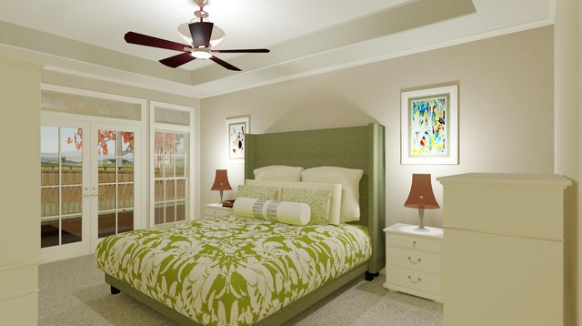 Stillwater Residence traditional bedroom
