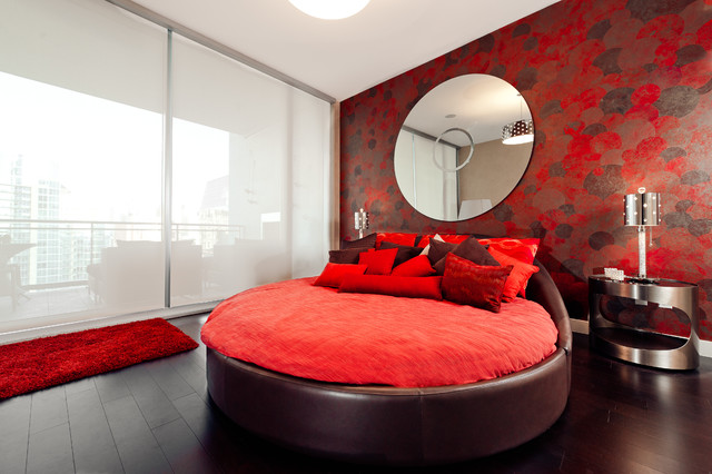 Stone Residence - Contemporary - Bedroom - Dallas - by Cantoni