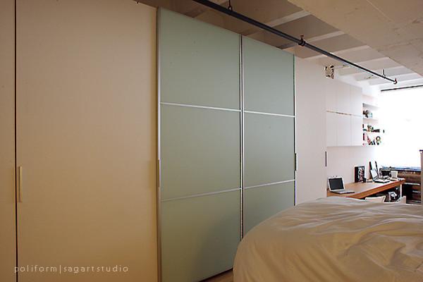 Storage Spaces contemporary-bedroom